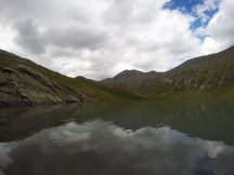 Lac du Goléon en fin de journée